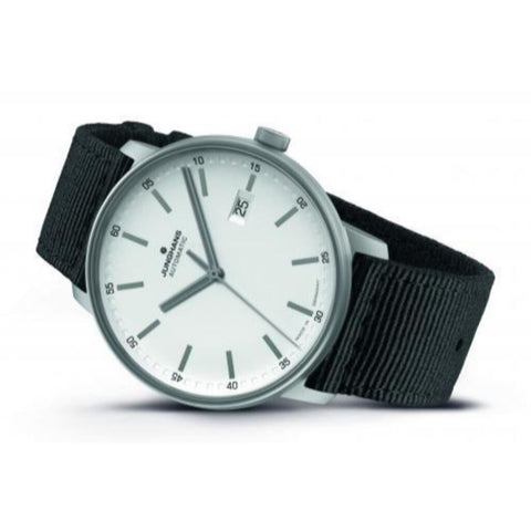 Junghans Form A Titan Watch | White/Black 027/2000.00