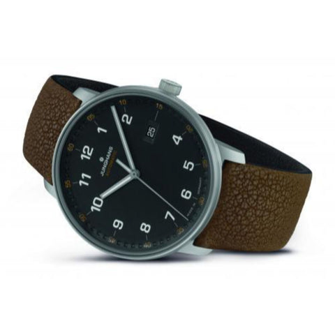 Junghans Form A Titan Watch | Black/Brown 027/2002.00