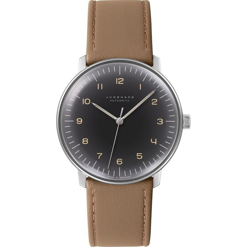 Junghans Max Bill Automatic Watch | Brown Calfskin 027/3401.00