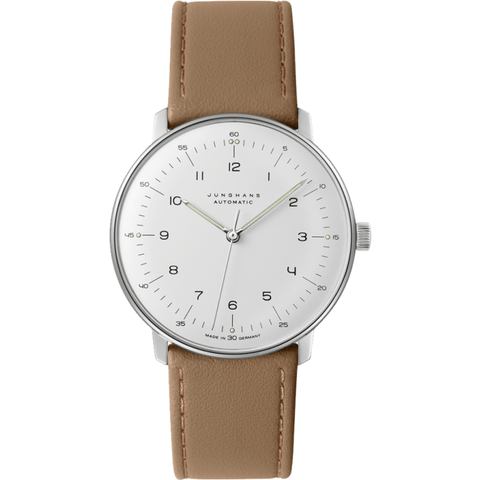 Junghans Max Bill Automatic Watch | Calfskin 027/3502.00