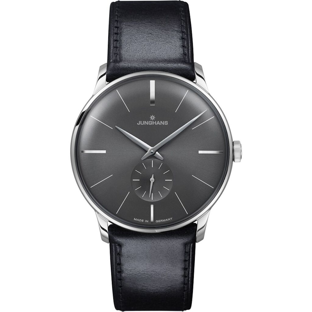 Junghans Meister Hand-Winding Watch | Black Horse Leather Strap 027/3503.00