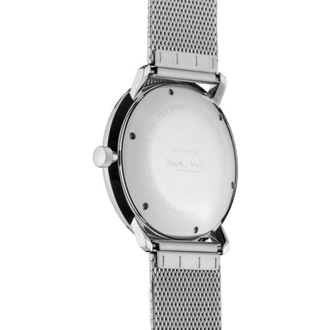 Junghans Max Bill Automatic Matt Silver Watch | Milanese Strap 027/4002.48