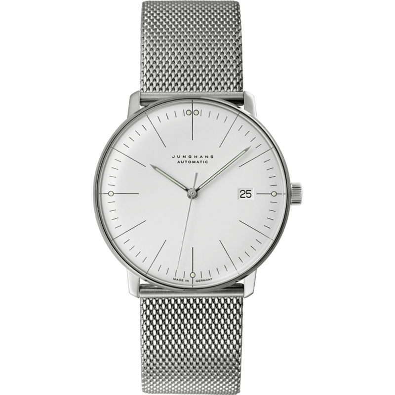 Junghans Max Bill Automatic Date Watch | Milanaise 027/4002.44