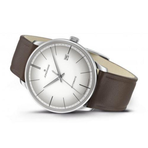 Junghans Meister Automatic | White/Brown 027/4050.00