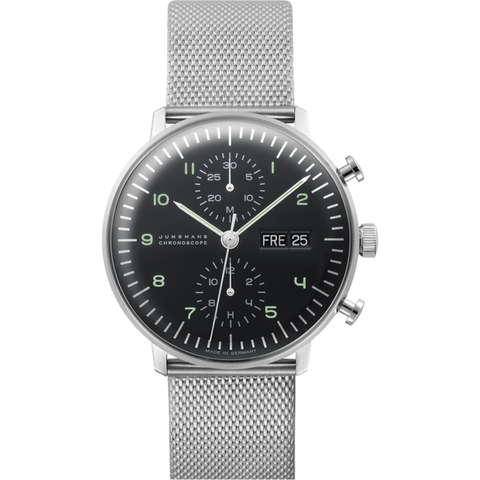 Junghans Max Bill Chronoscope Watch | Milanaise 027/4500.44