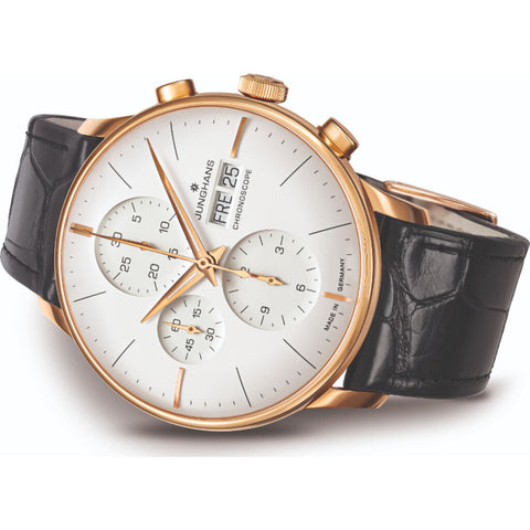 Junghans Meister Chronoscope Watch | 027/7323.01