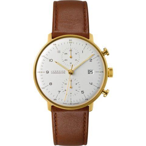 Junghans Max Bill Chronoscope Watch | 027/7800.04