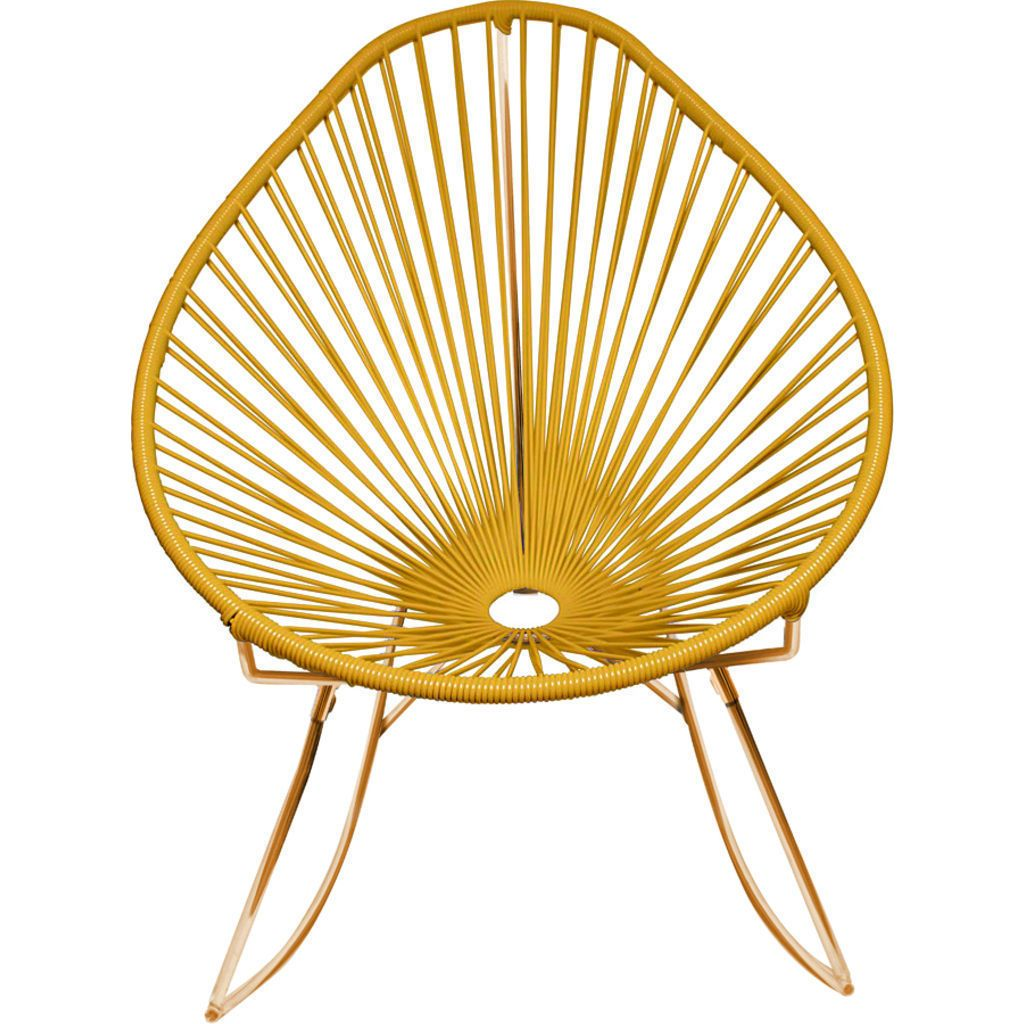 Innit Designs Acapulco Rocker Chair | Copper/Caramel