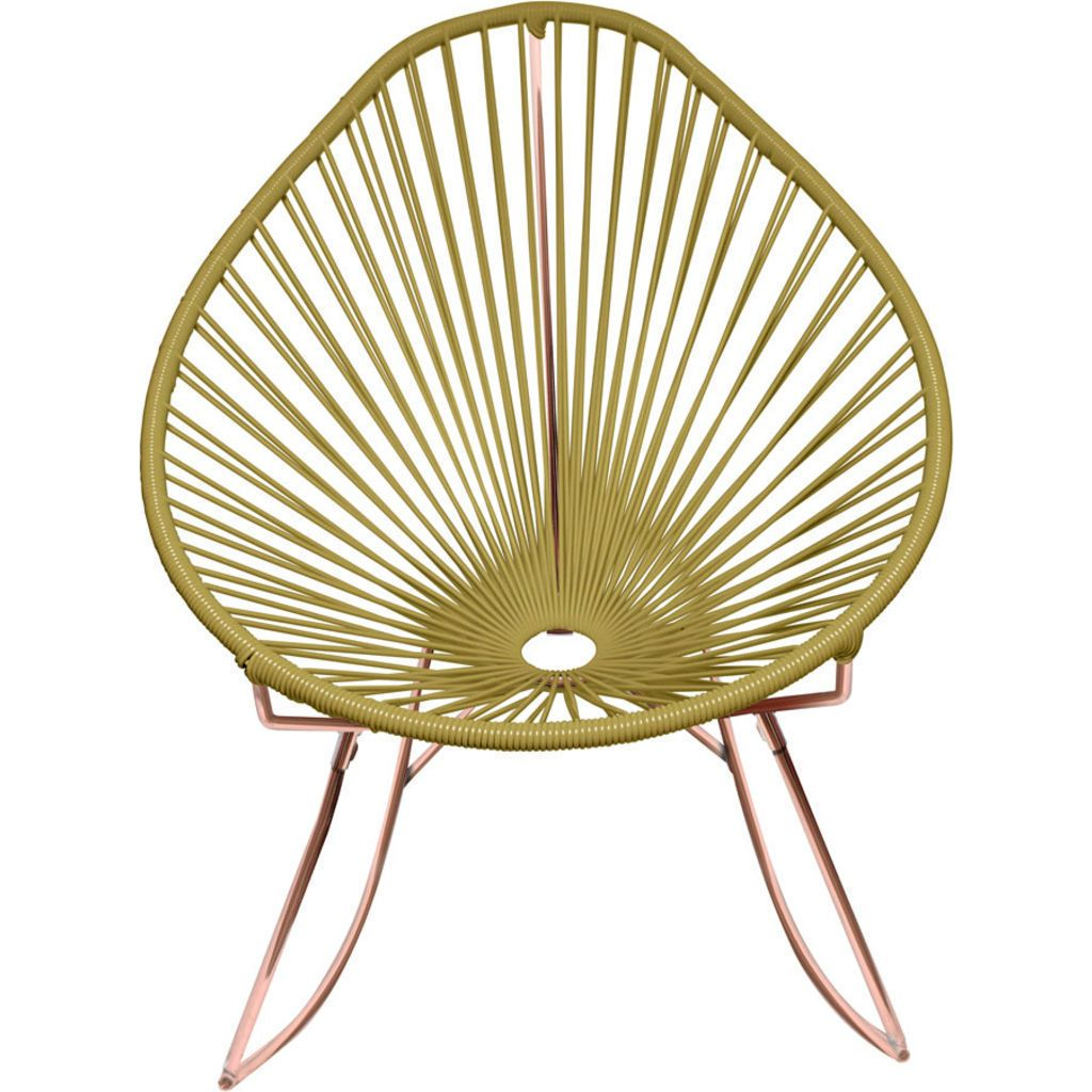 Innit Designs Acapulco Rocker Chair | Copper/Gold