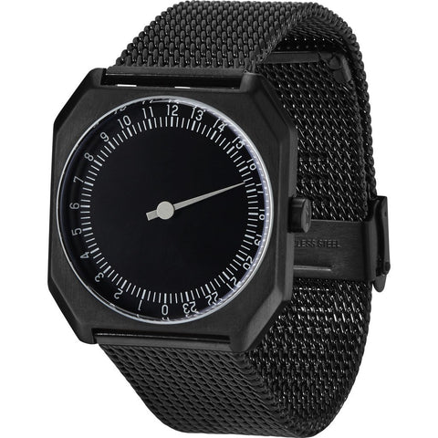 slow Jo 22 All Black Watch | Black Mesh X000NNO5MT