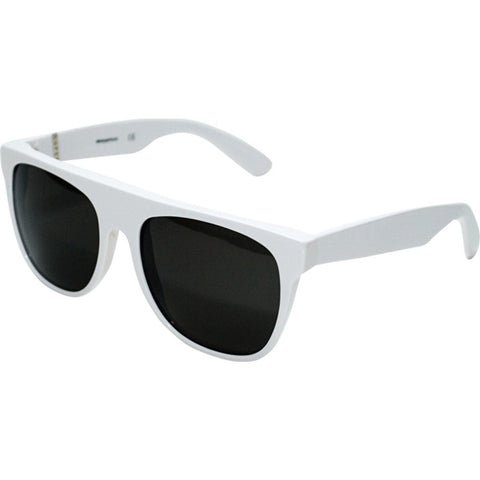 RetroSuperFuture Flat Top Sunglasses | White 035