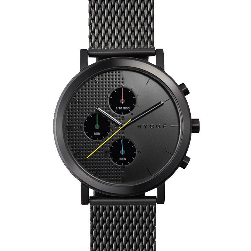 Hygge 2204 Series Black/Black Watch | Mesh