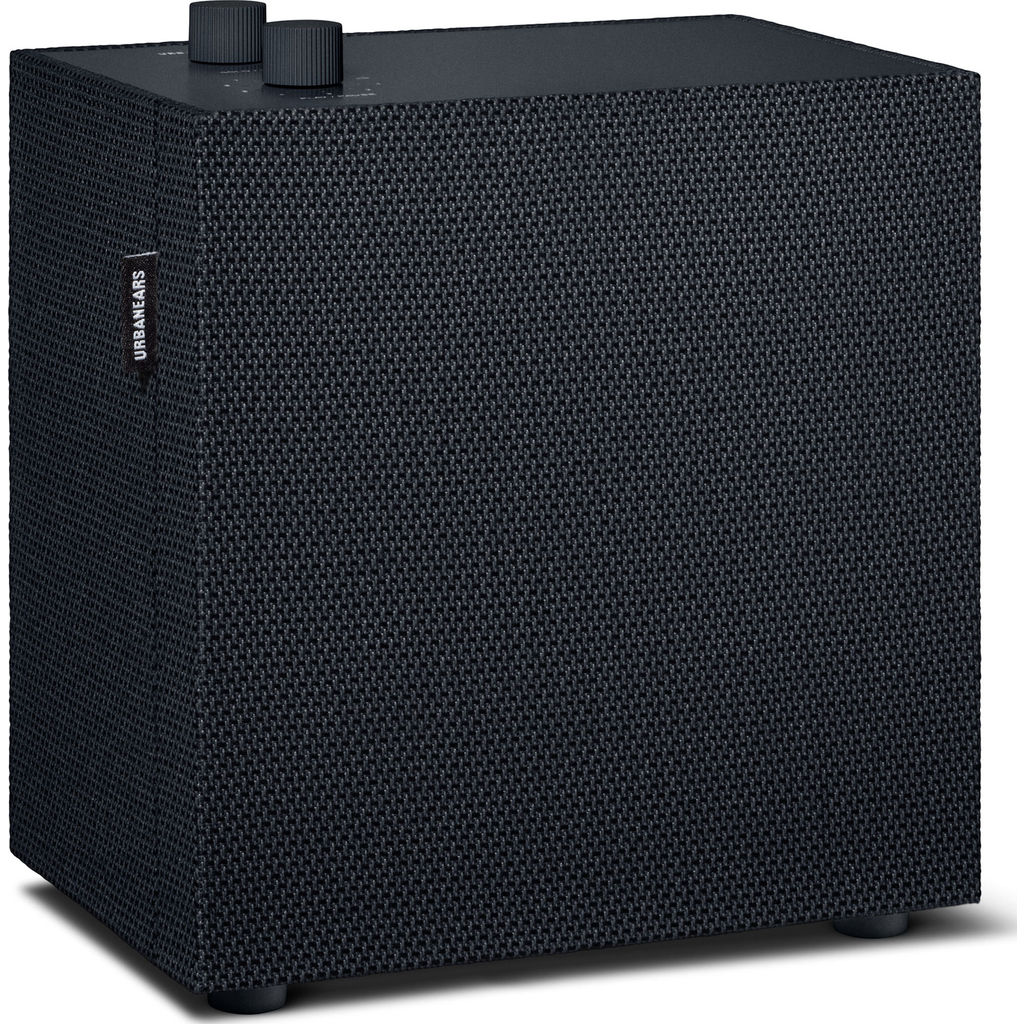 UrbanEars Lotsen Multiroom Bluetooth Speaker | Vinyl Black 4092284