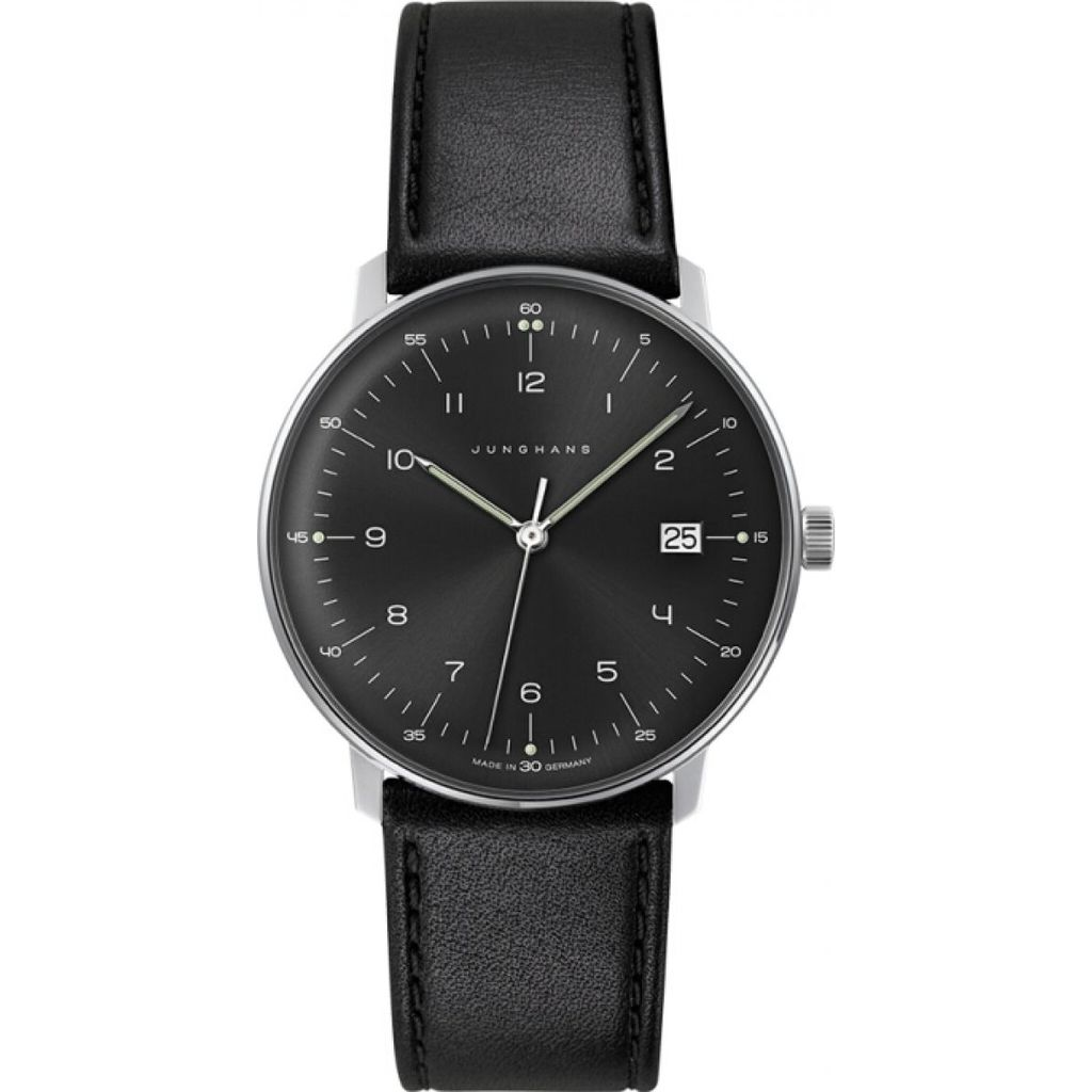 Junghans Max Bill Watch | Black 041/4462.00
