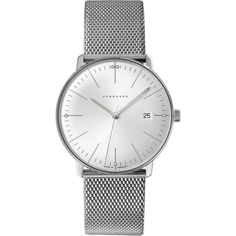 Junghans Max Bill Quartz Wrist Watch | Stainless Steel 041/4463.44