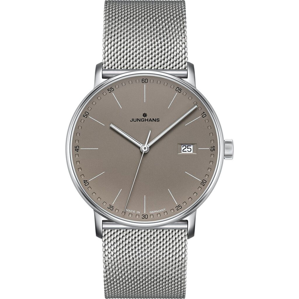 Junghans Form Quartz Automatic Matt Taupe Watch | Milanese Strap 041/4886.44