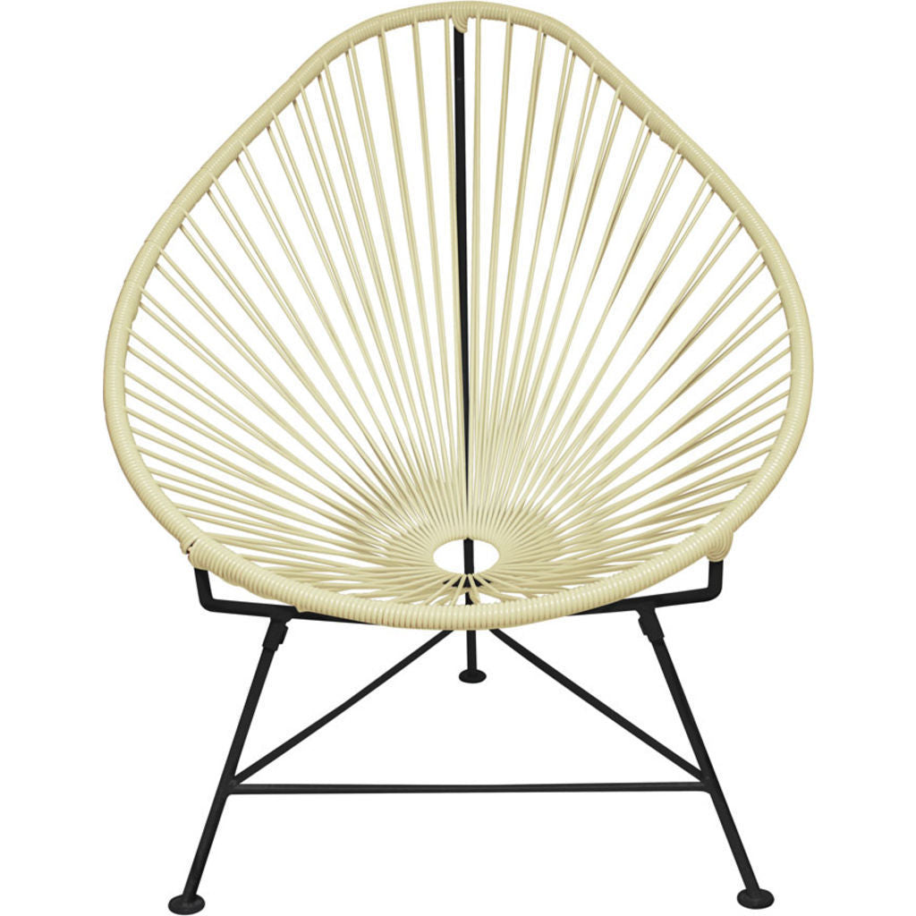 Innit Designs Junior Acapulco Chair | Black/Ivory