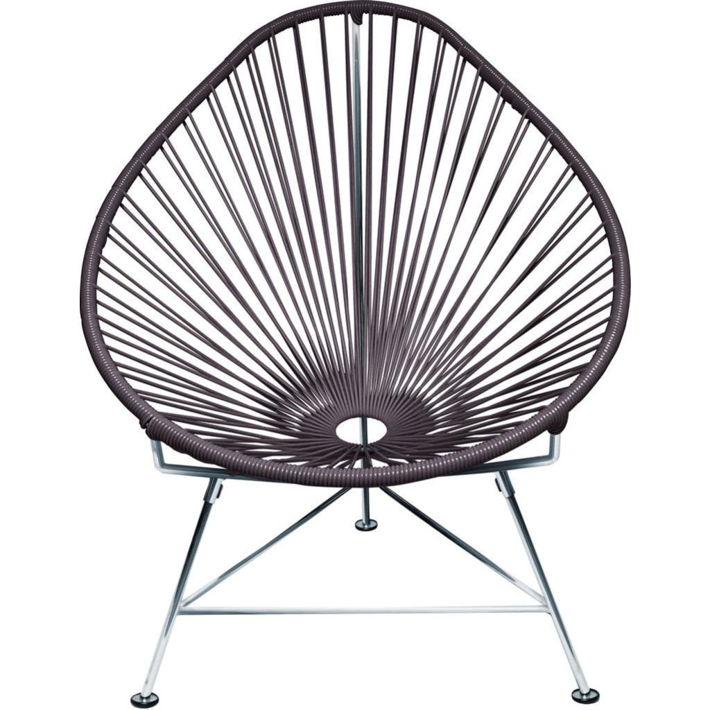 Innit Designs Junior Acapulco Chair | Chrome/Grey