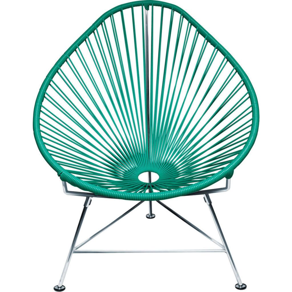 Innit Designs Junior Acapulco Chair | Chrome/Tealy Turquoise