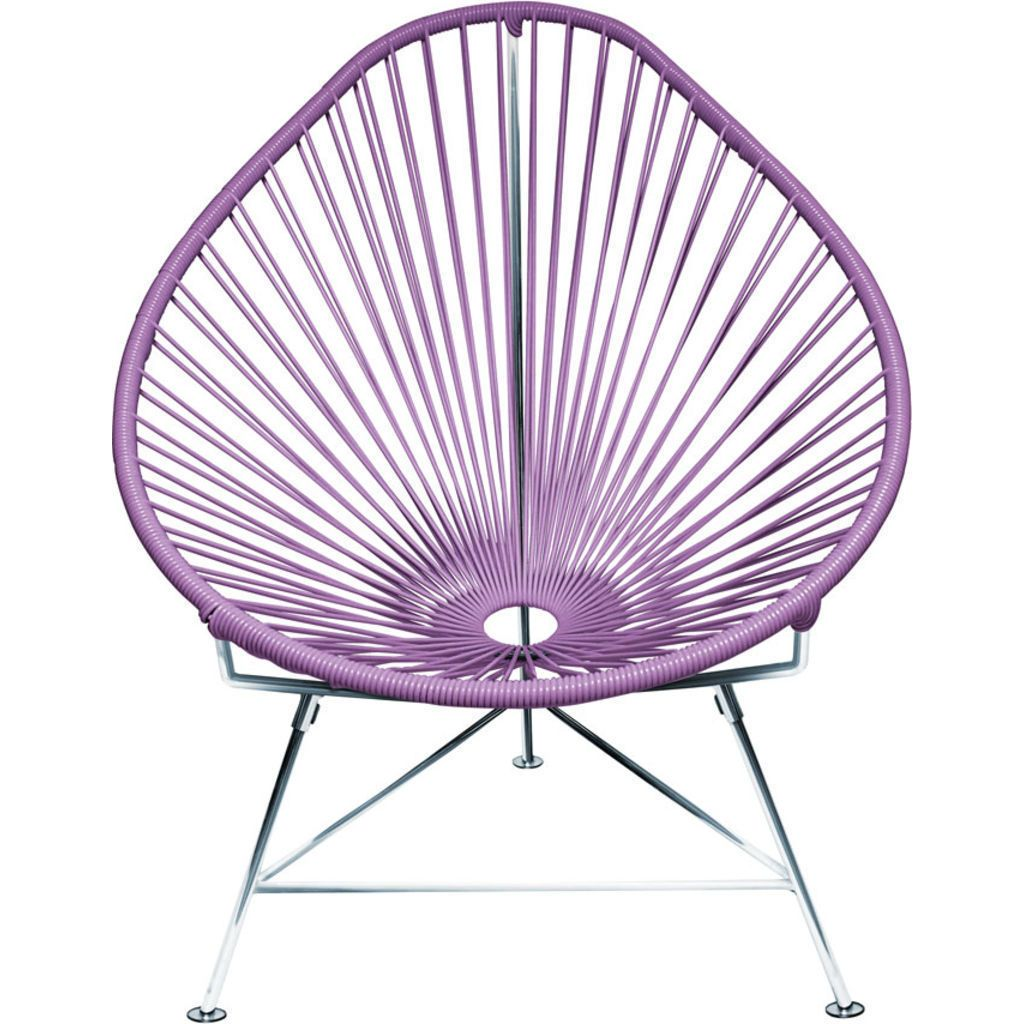 Innit Designs Junior Acapulco Chair | Chrome/Orchid
