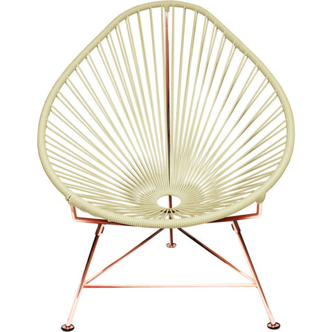 Innit Designs Junior Acapulco Chair | Copper/Yellow