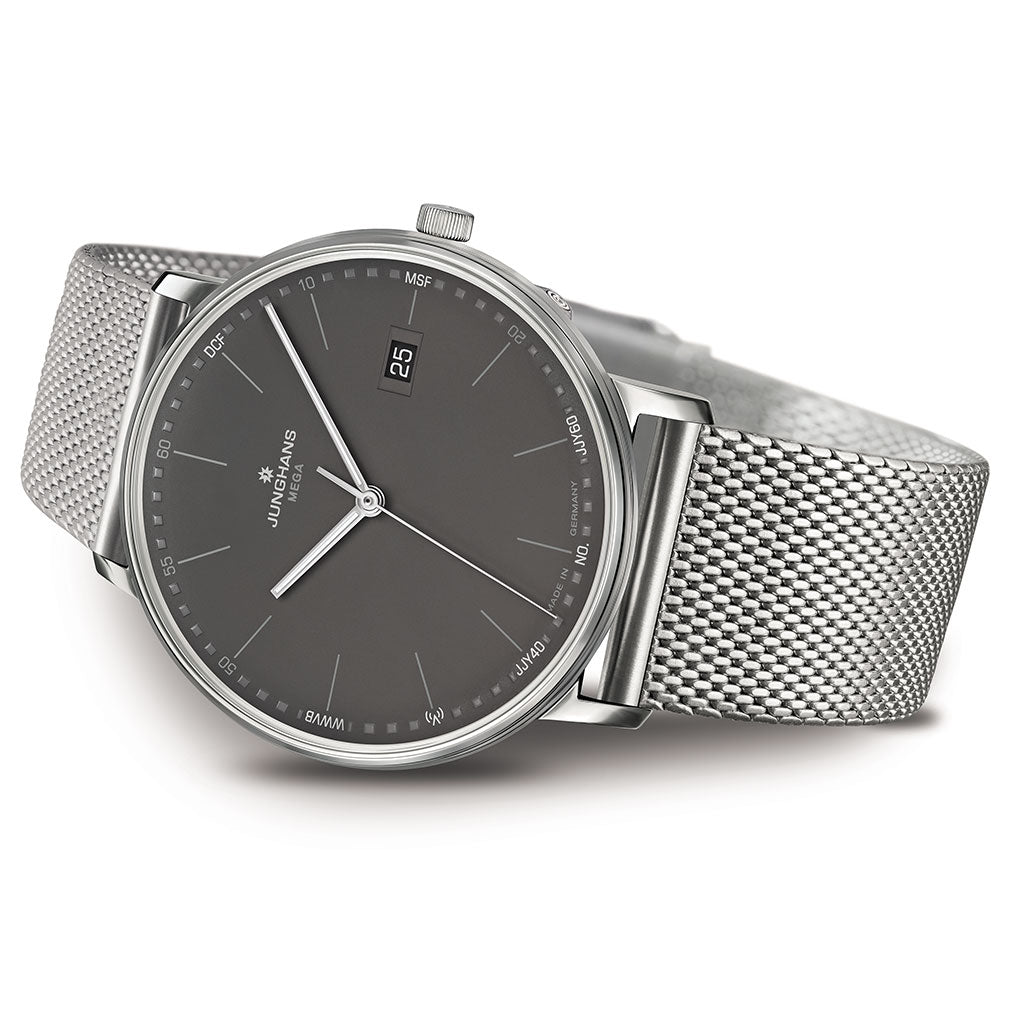 Junghans Form Mega Radio Controlled Watch | Milanaise Strap 058/4933.44
