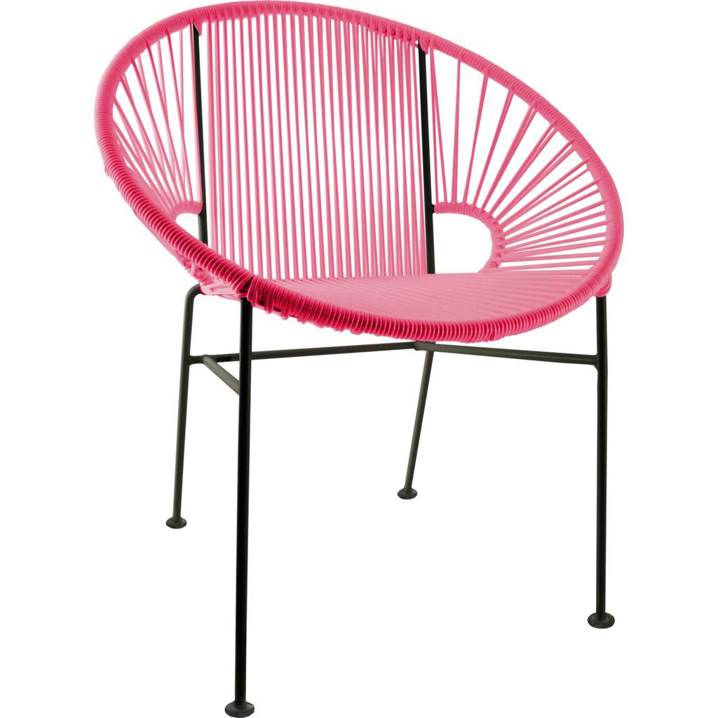 Innit Designs Concha Chair | Black/Pink