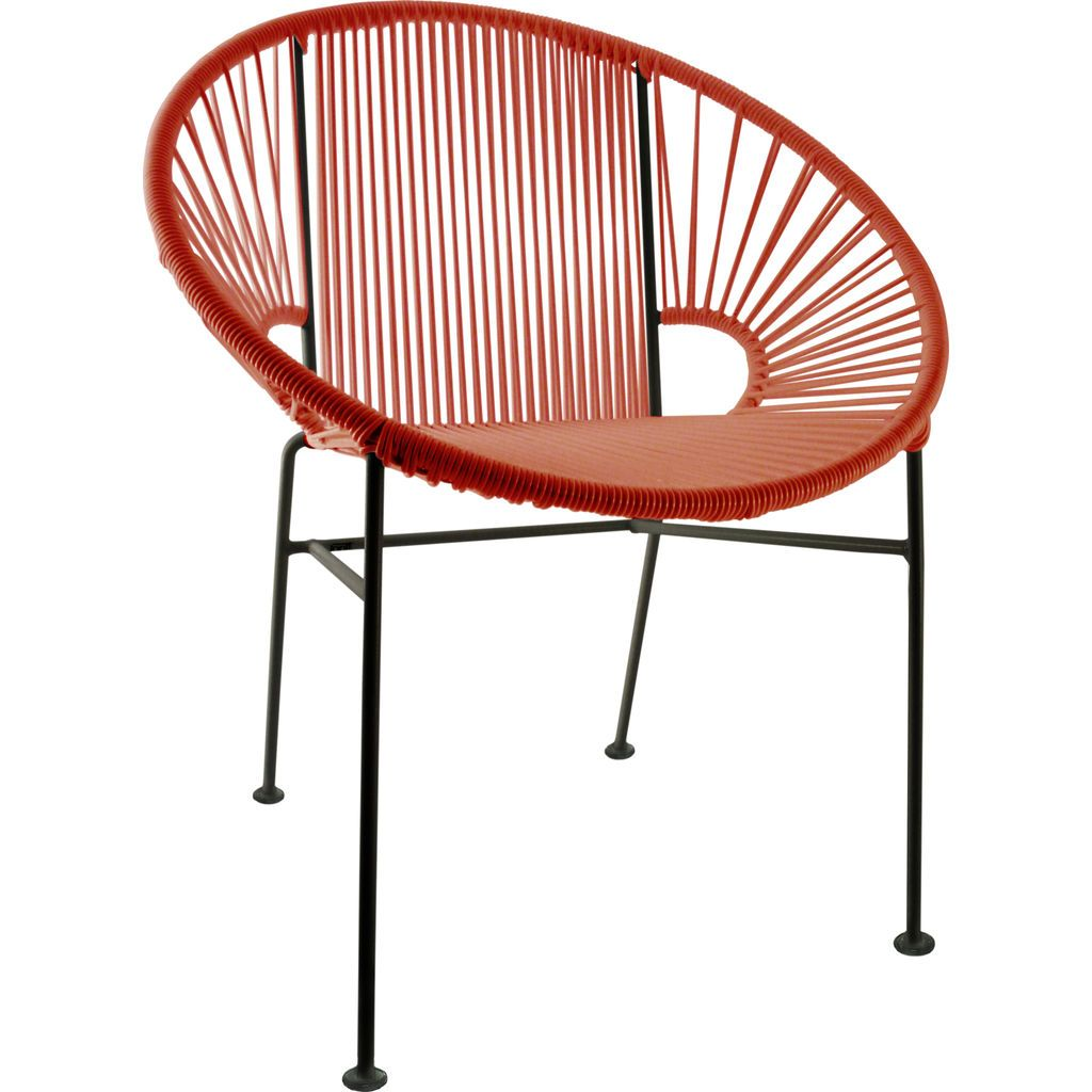 Innit Designs Concha Chair | Black/Red