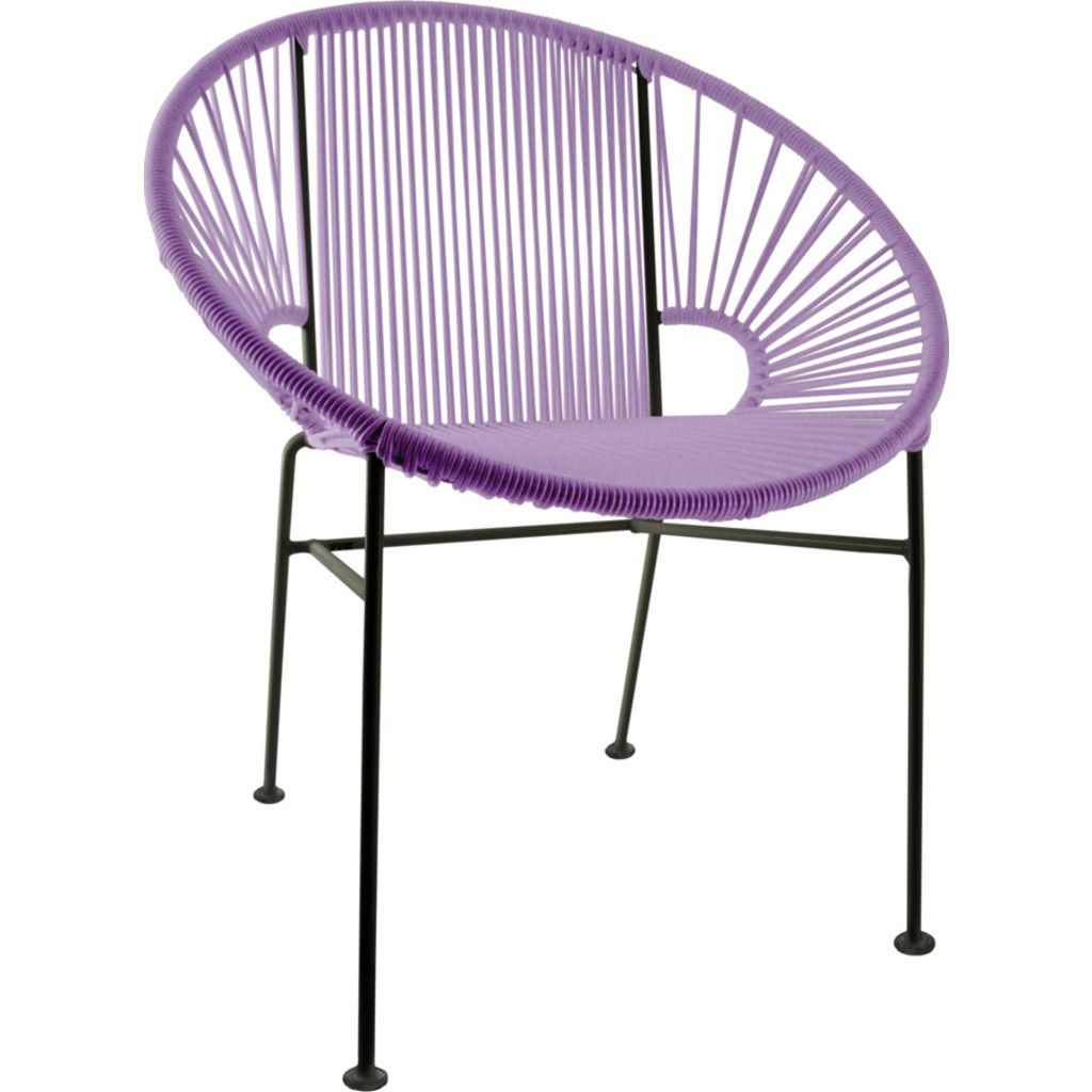 Innit Designs Concha Chair | Black/Orchid