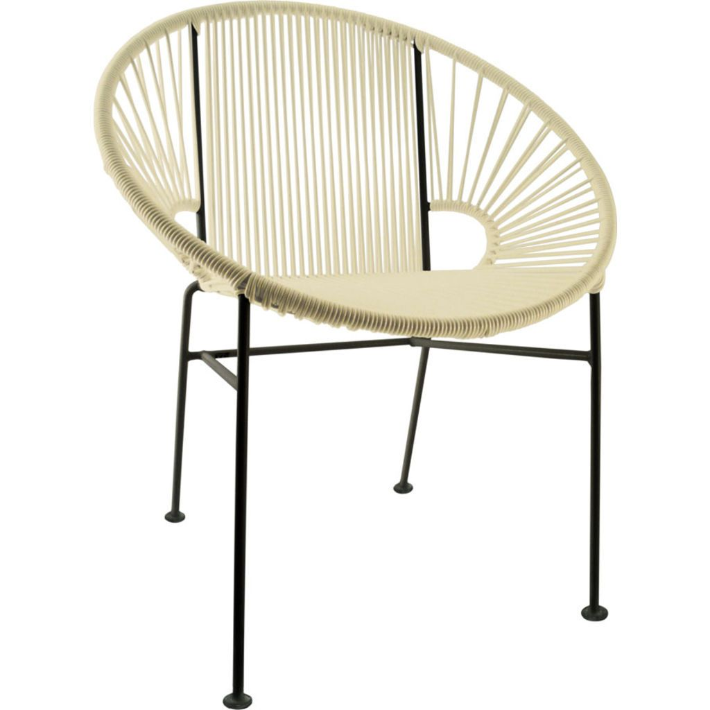 Innit Designs Concha Chair | Black/Ivory