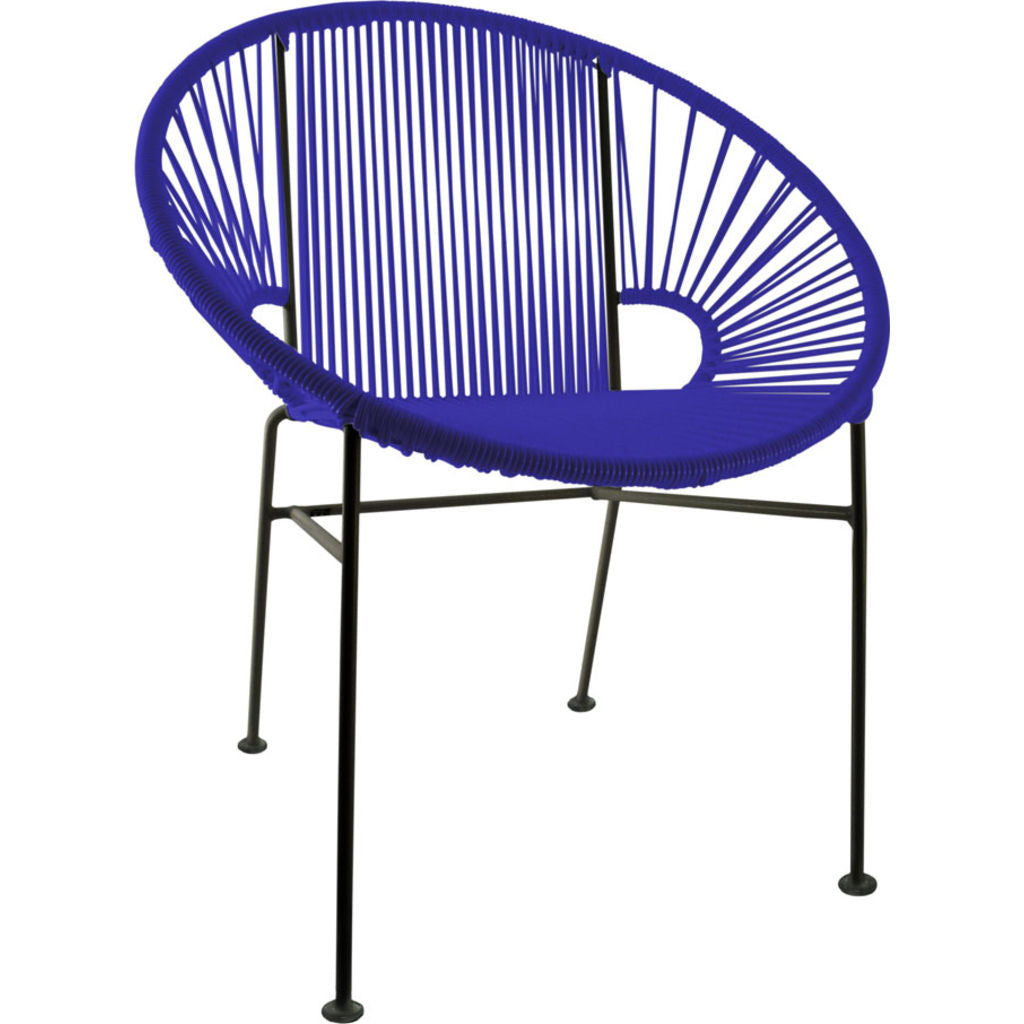 Merveilleux ... Innit Designs Concha Chair | Black/Deep Blue ...