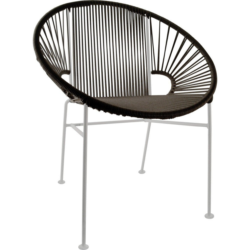 Superieur ... Innit Designs Concha Chair | White/Black 06 02 01 ...