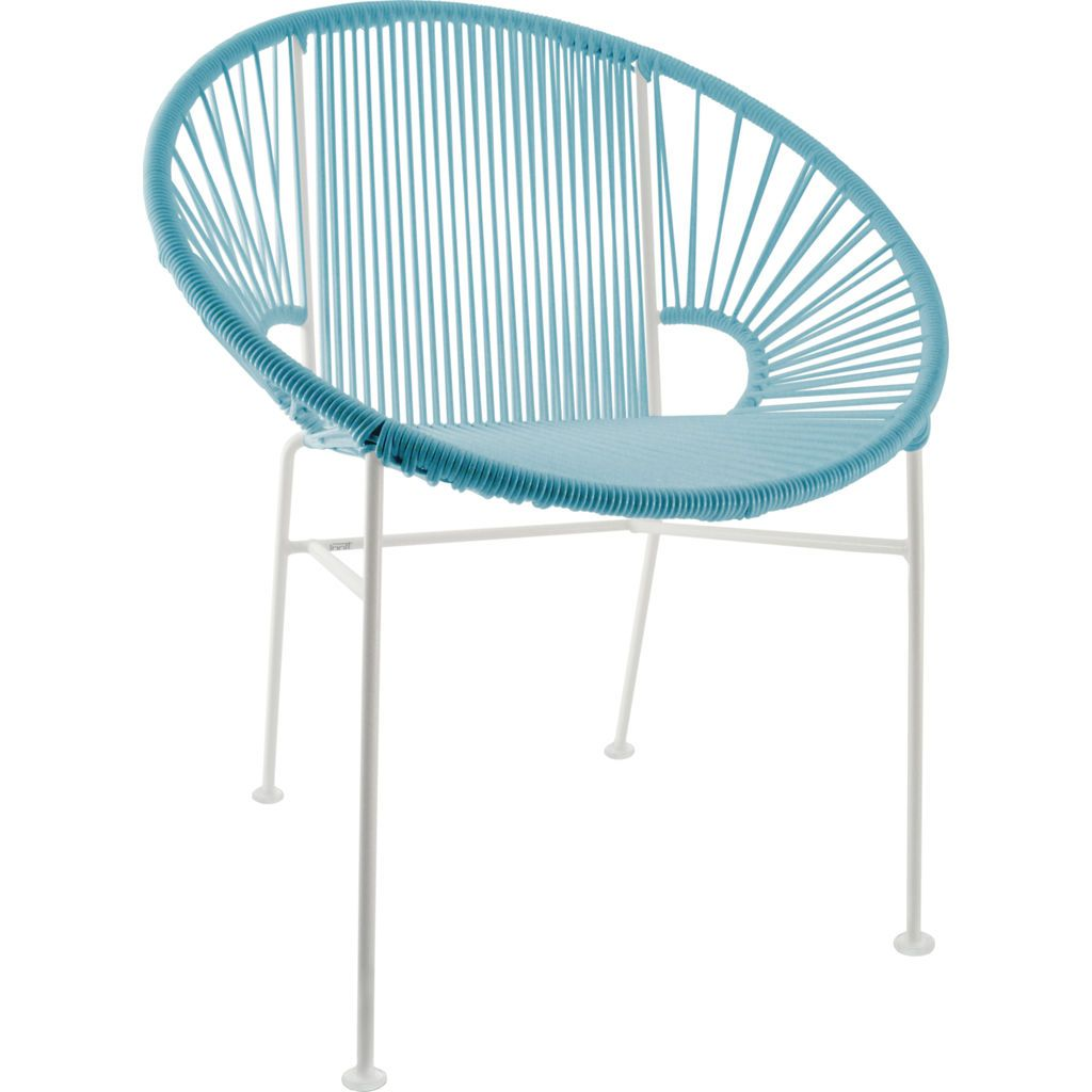 Innit Designs Concha Chair | White/Blue