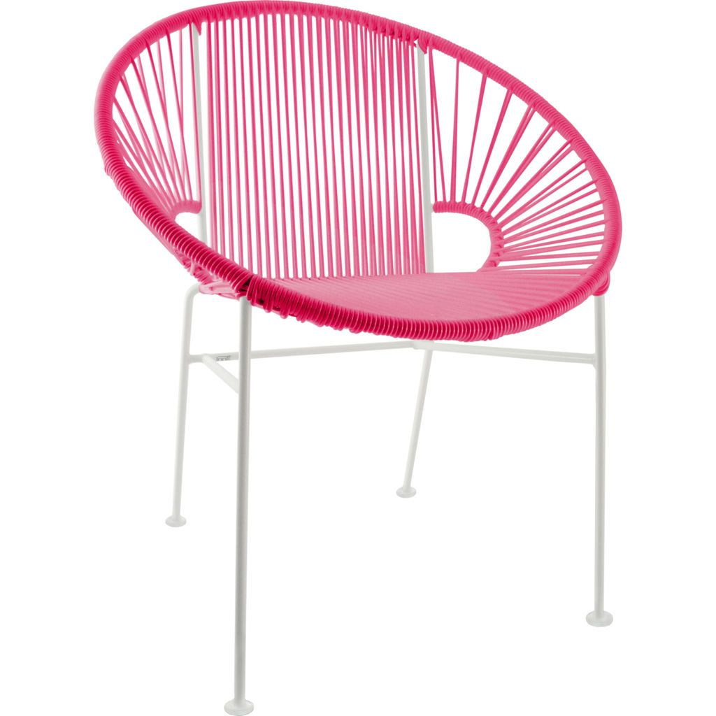 Innit Designs Concha Chair | White/Pink