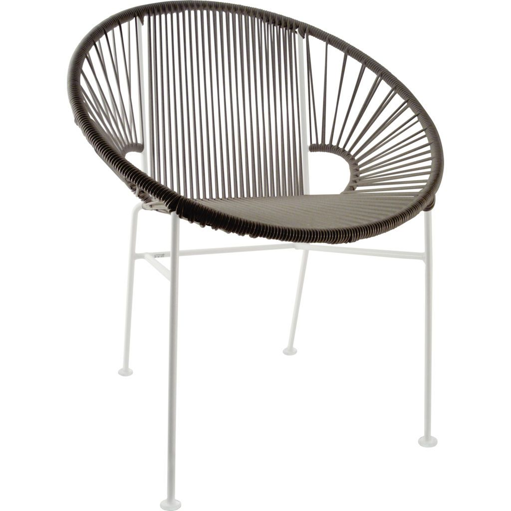 Innit Designs Concha Chair | White/Grey
