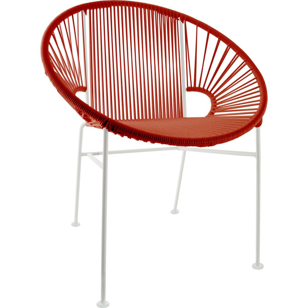 Innit Designs Concha Chair | White/Red