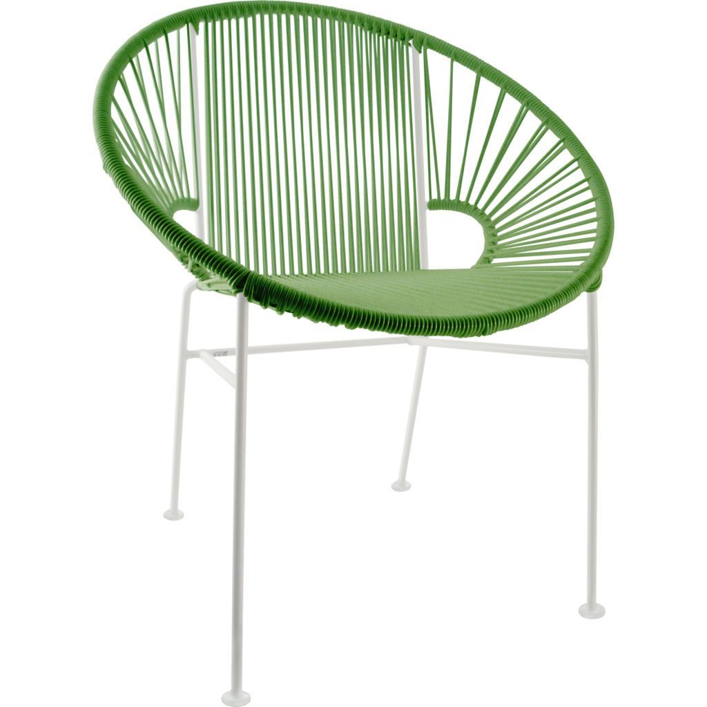Innit Designs Concha Chair | White/Cactus