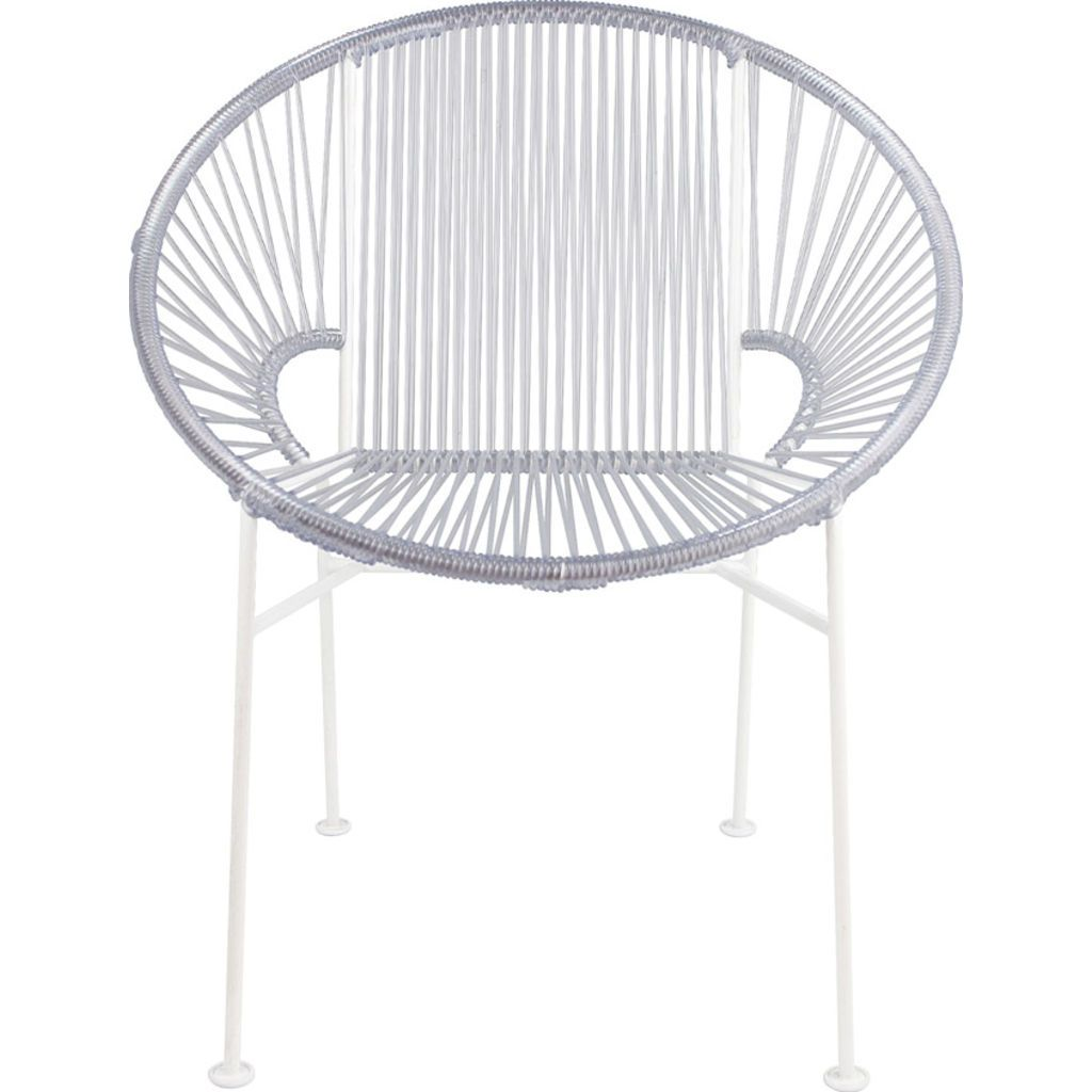 Innit Designs Concha Chair | White/Clear