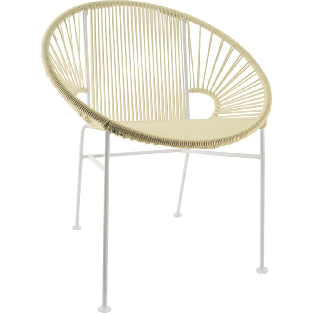 Innit Designs Concha Chair | White/Ivory