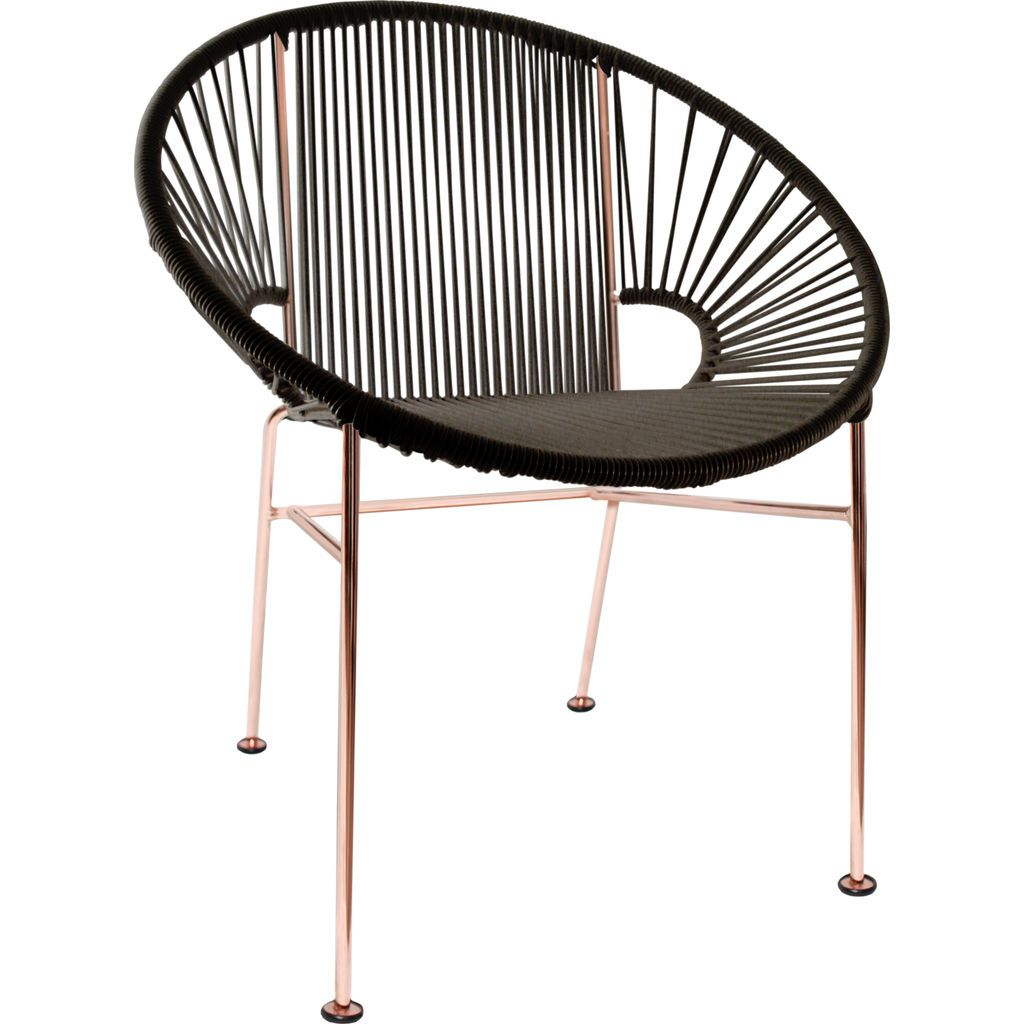 Innit Designs Concha Chair | Copper/Black