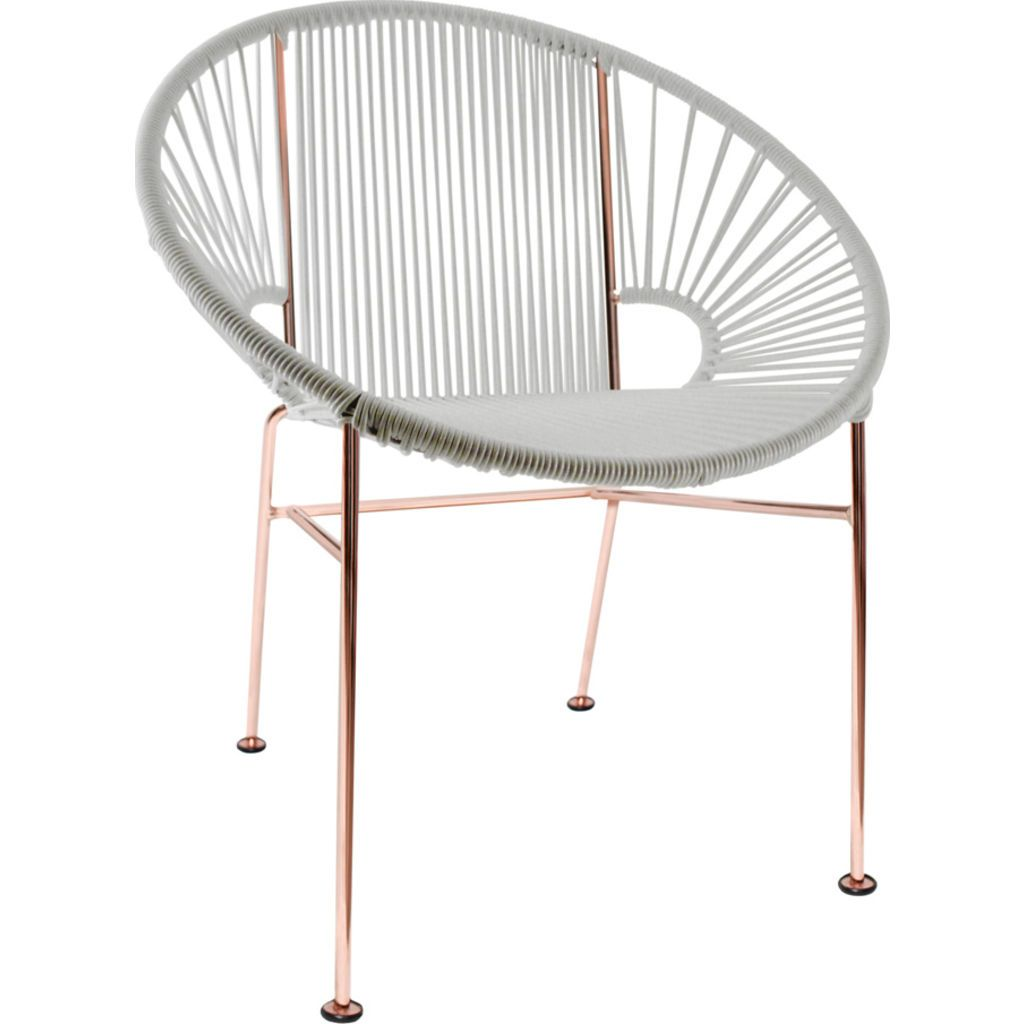 Innit Designs Concha Chair | Copper/White