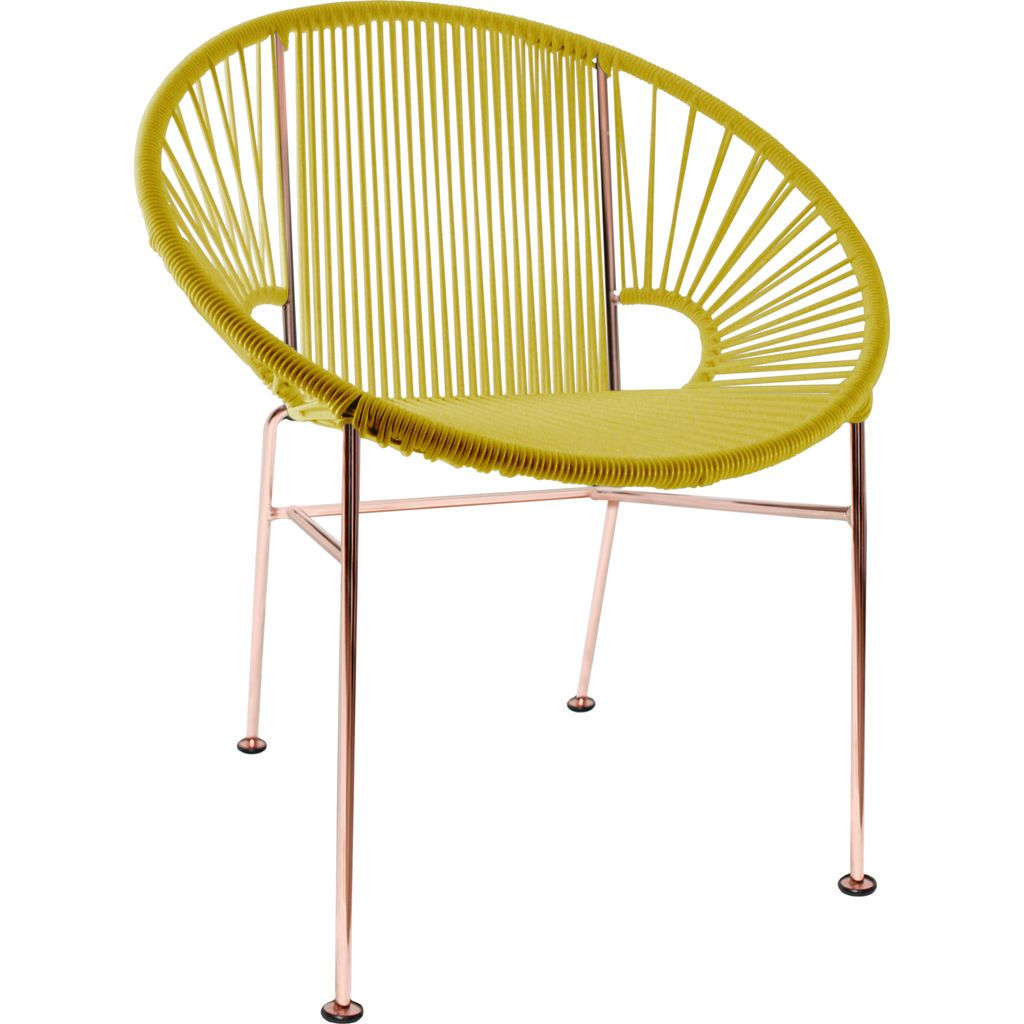 Innit Designs Concha Chair | Copper/Yellow