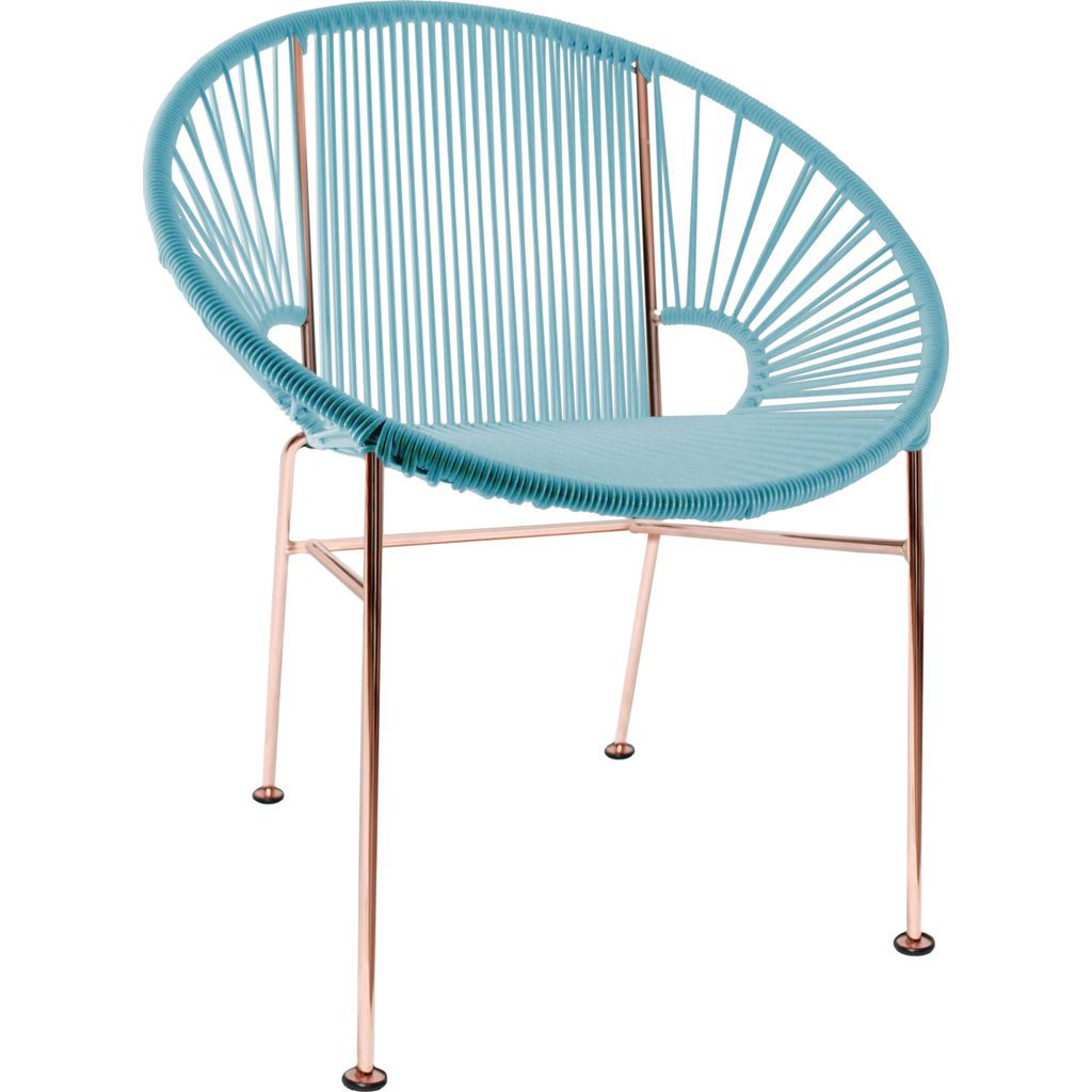 Innit Designs Concha Chair | Copper/Blue