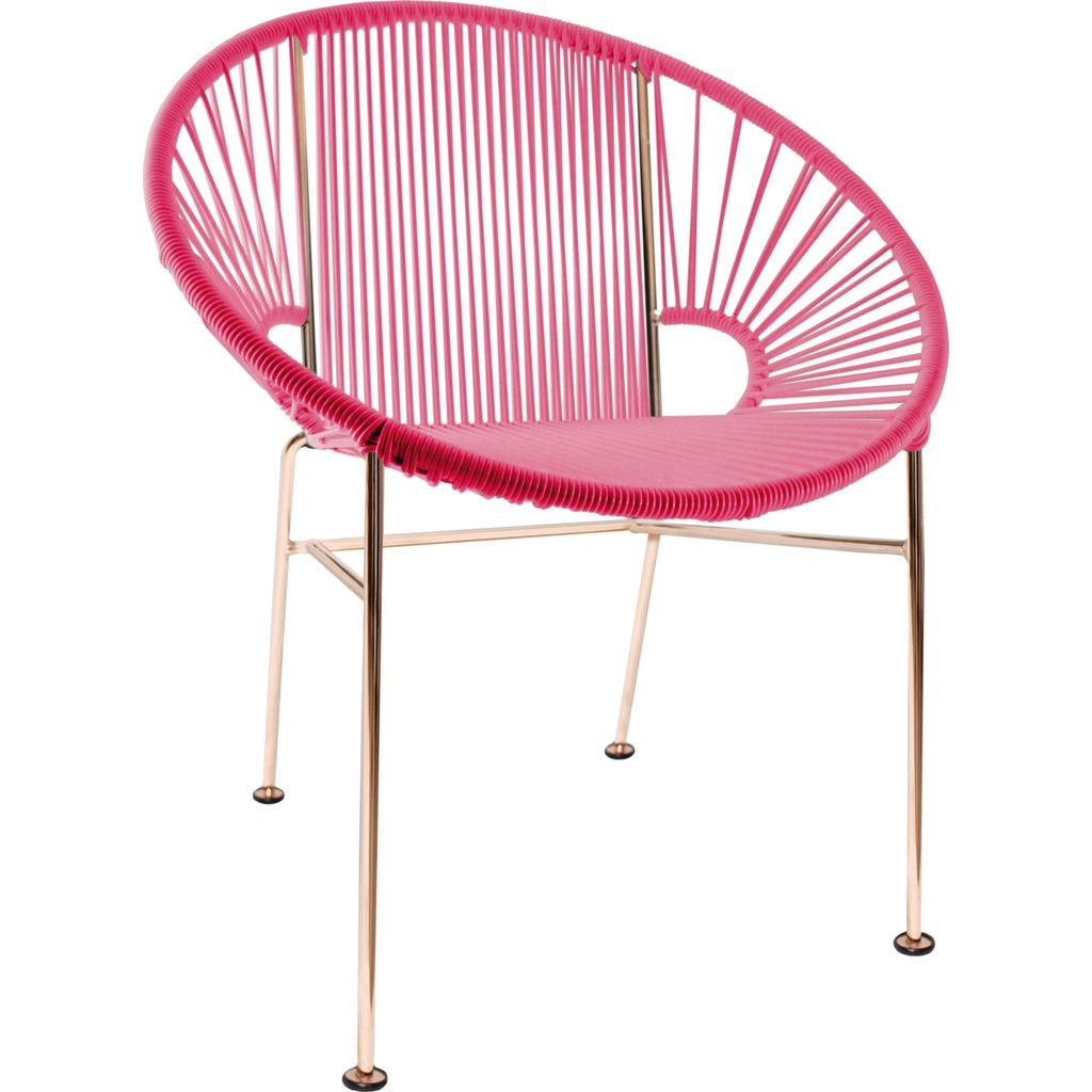 Innit Designs Concha Chair | Copper/Pink