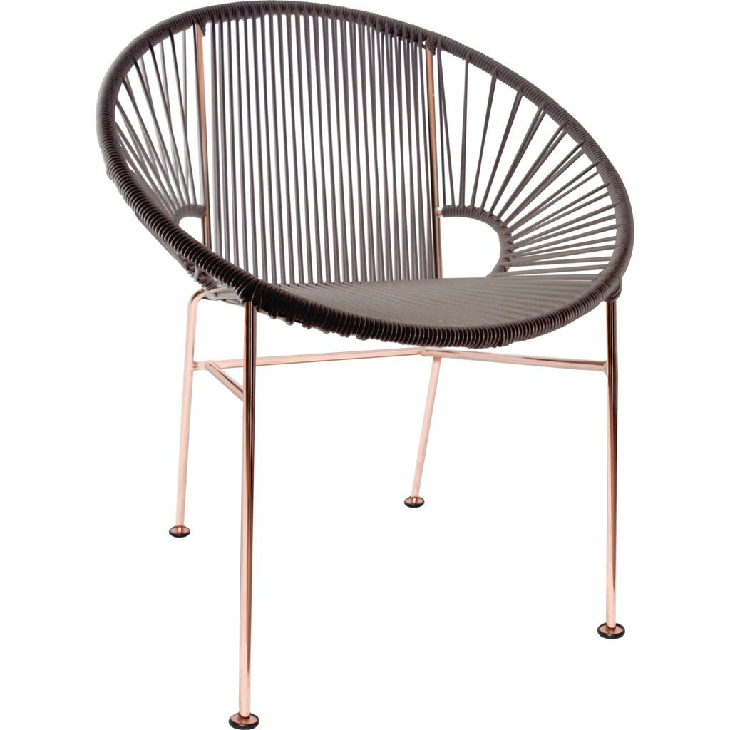 Innit Designs Concha Chair | Copper/Grey