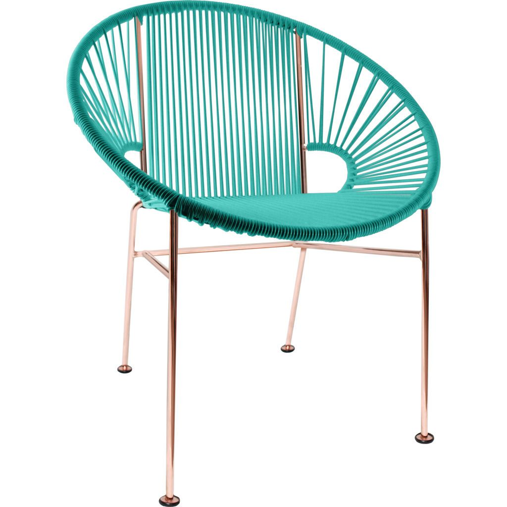 Innit Designs Concha Chair | Copper/Turquoise