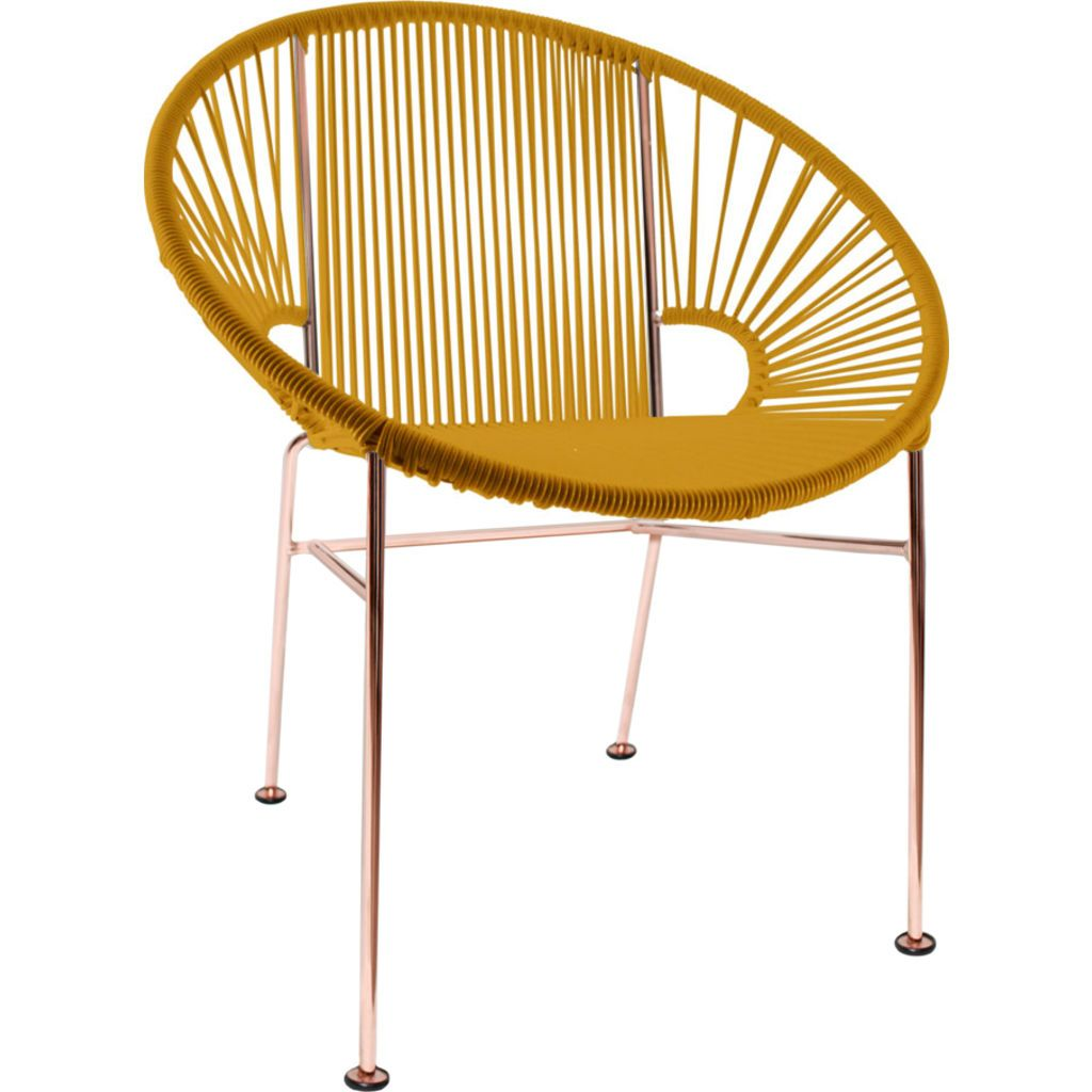Innit Designs Concha Chair | Copper/Caramel