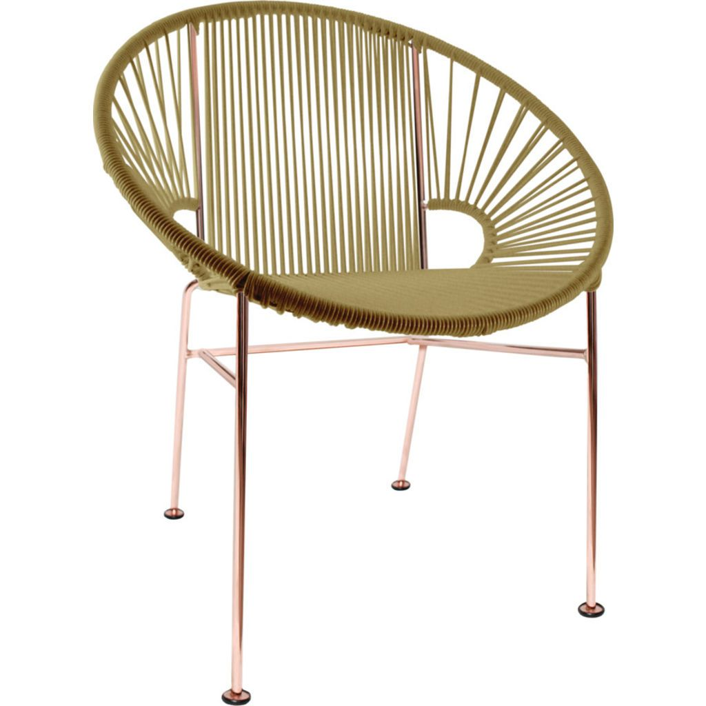 Beau ... Innit Designs Concha Chair | Copper/Gold ...