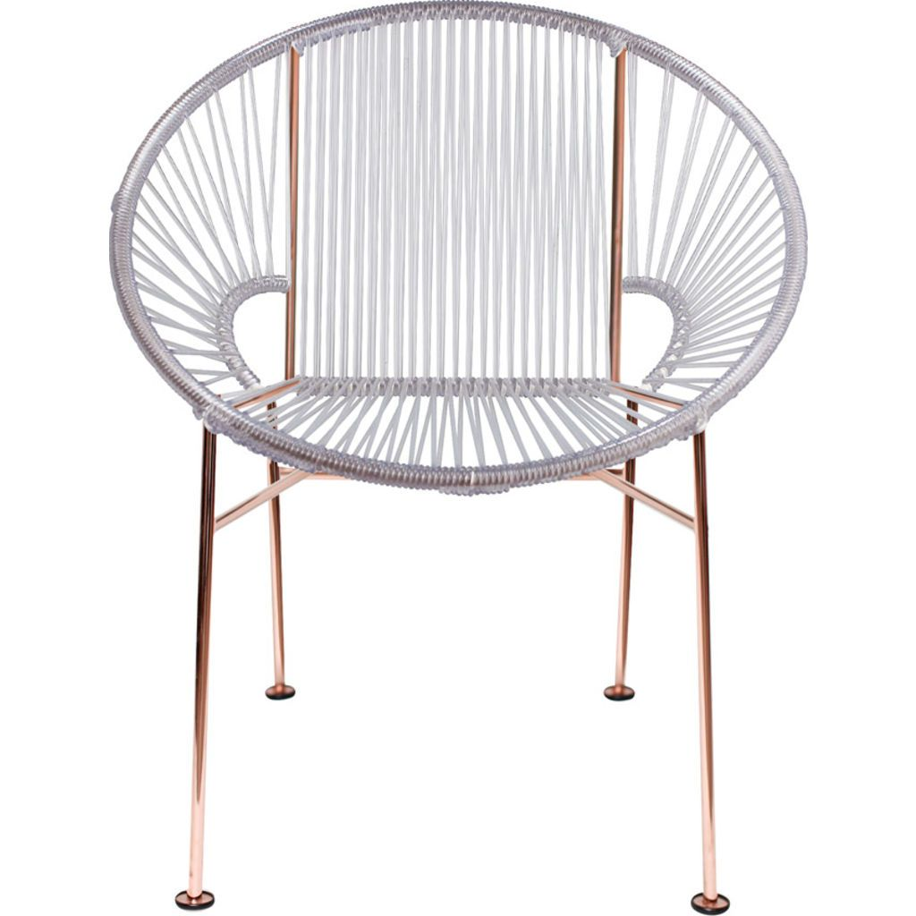 Innit Designs Concha Chair | Copper/Clear