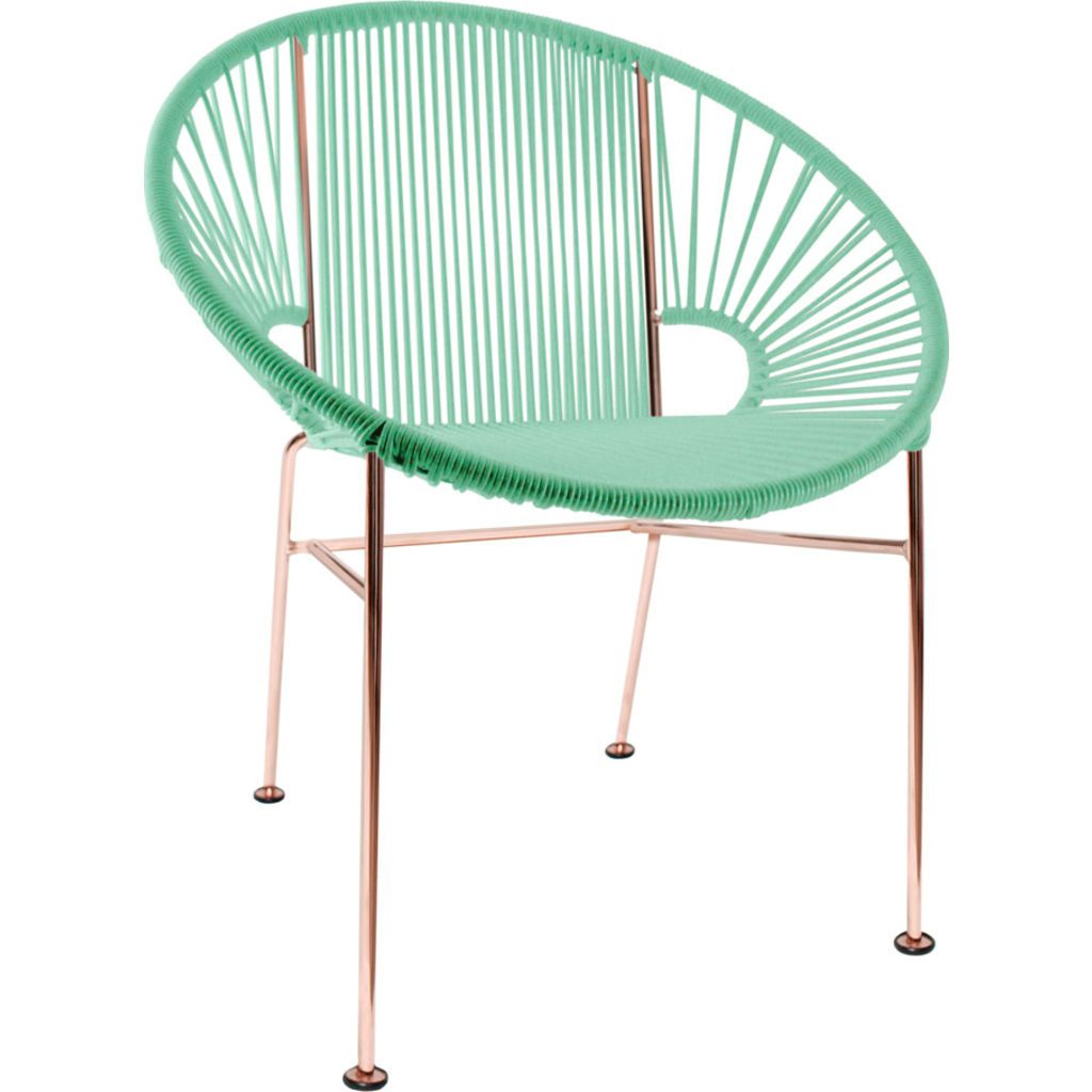 Innit Designs Concha Chair | Copper/Mint